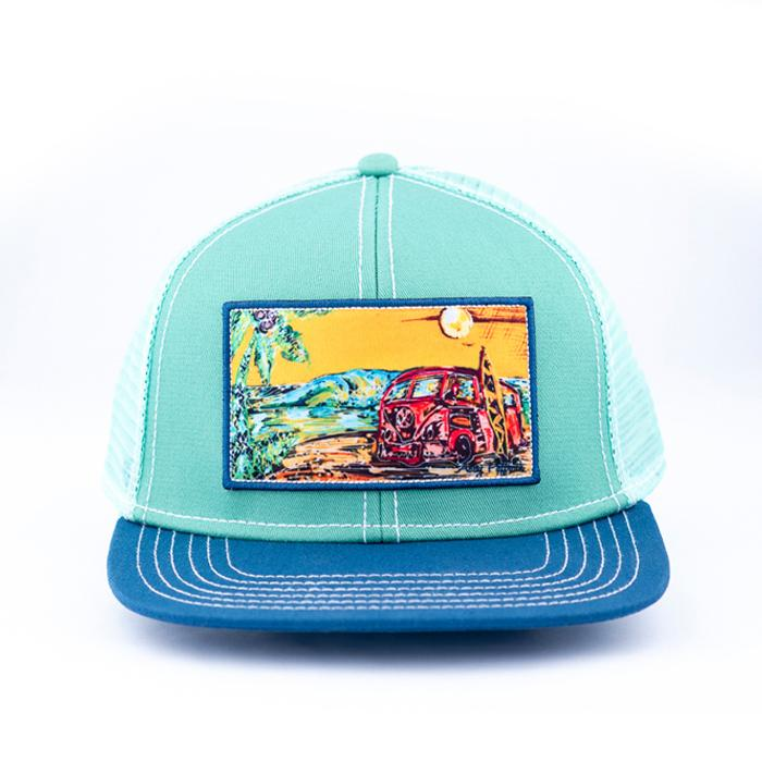 Flat Bill Trucker: Surf Bum