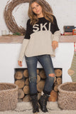 Ski Colorblock Sweater