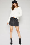 Sadie & Sage Fireside Popcorn Sweater In Ivory