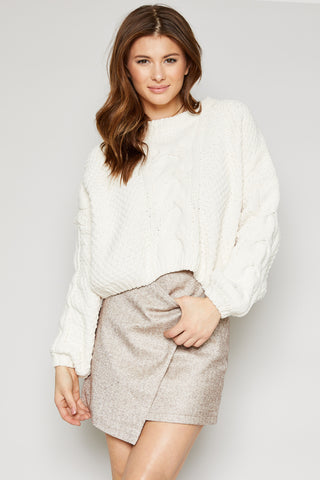 Azalea Cropped Sweater