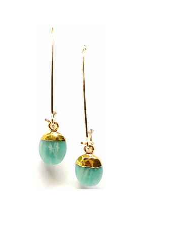 Ciara Amazonite Drop Earrings