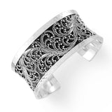 Lois Hill Medium Granulated Cuff Bracelet