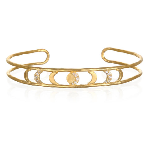 Grow In Grace Gold Bracelet Cuff