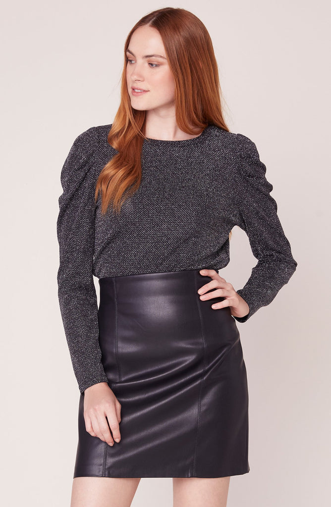 Girl Crush Vegan Leather Skirt