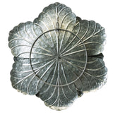 Galvanized Metal Flower Wall Decor