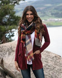 Pocket Poncho Scarf by Grace & Lace, Autumn Nights