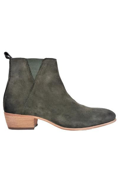 Bea Bootie In Hiking Green