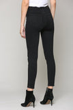 Taylor High Rise Five Button Skinny Jean