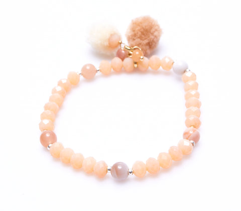 Nakamol Moana Bracelet In Rose
