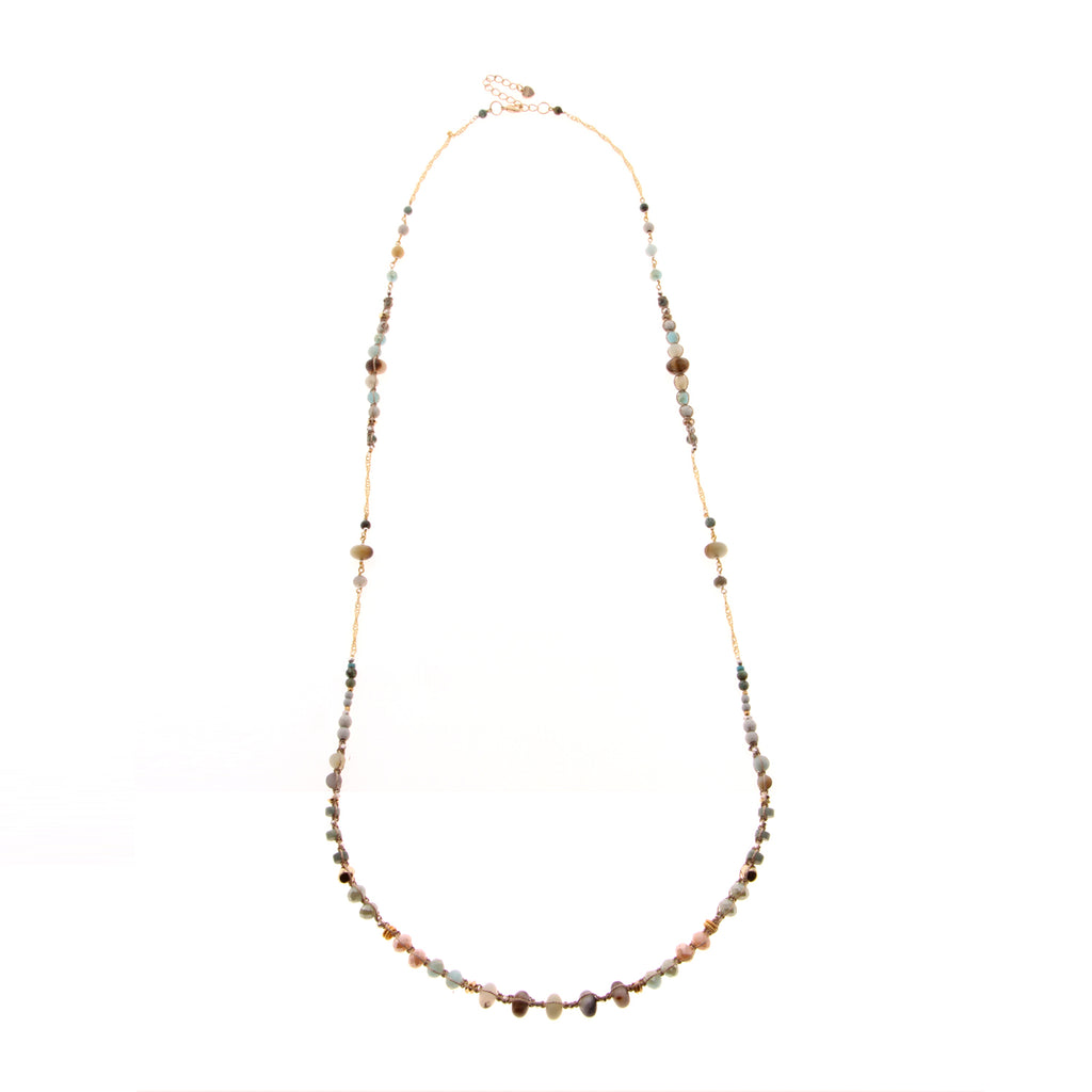 Nakamol Serendipity Necklace In Gold