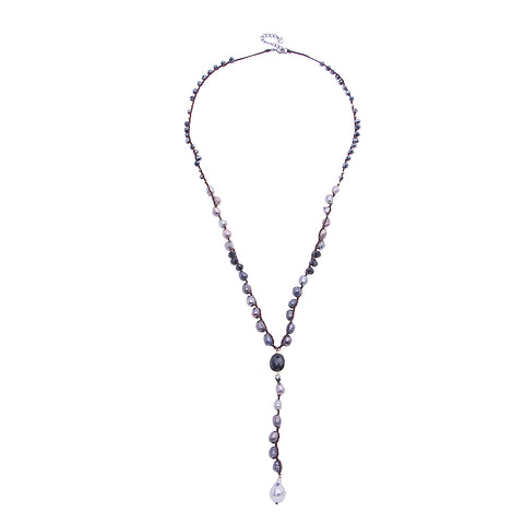 Nakamol Allegra Necklace In Black