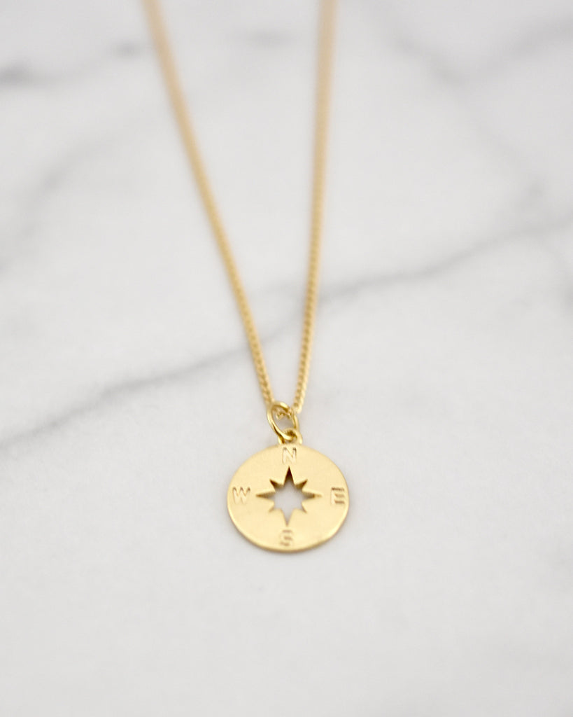 Lucy Compass Necklace