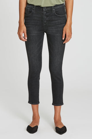 Olivia Super Highrise Cropped Skinny Jeans, Midvale