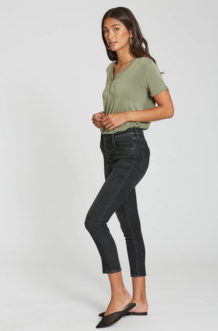 Olivia Super Highrise Cropped Skinny Jeans - Midvale