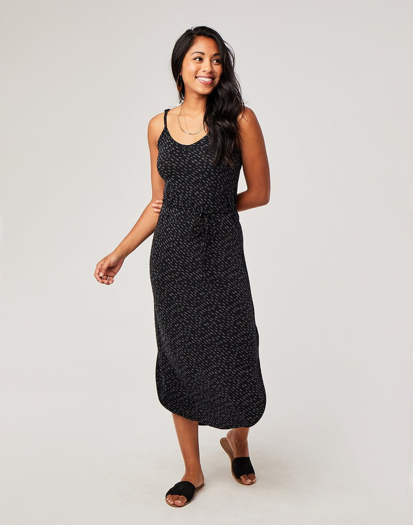 Vikki Dress, Black Kapalua