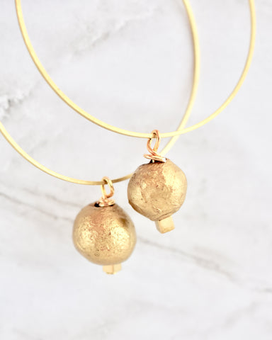 Eleena II Earrings in Gold
