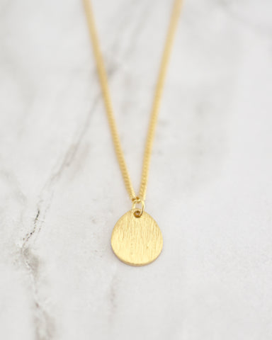 Hazel Necklace, Teardrop