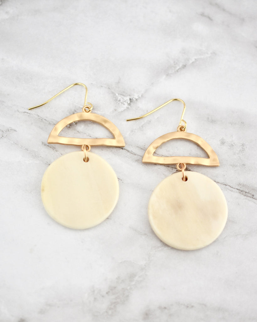 Enid Earrings in Light