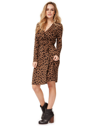 Lisa Faux Wrap Dress