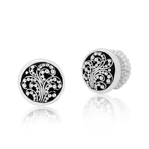 Lois Hill Small Granulation Post Earrings