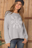 Snowflake Crewneck Sweater