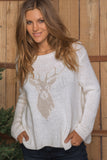 Stag Crewneck Sweater