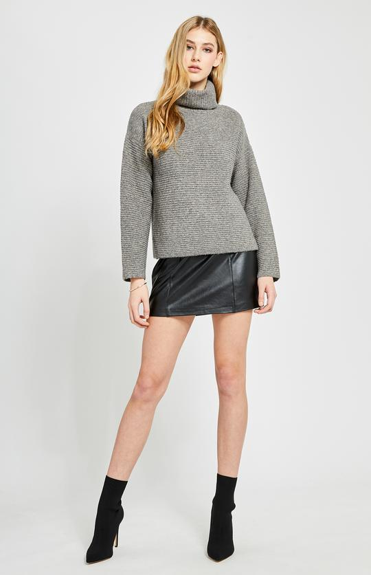 Francis Turtleneck Sweater In Stone