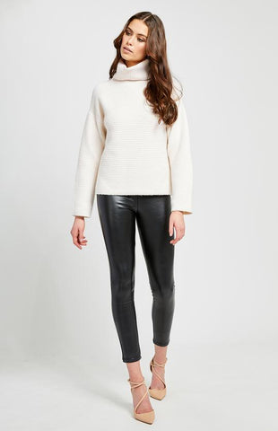 Francis Turtleneck Sweater In Ivory