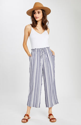 Lexington Pants, Navy Spring Stripe