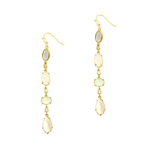 Tai Jewelry Linear Drop Earrings