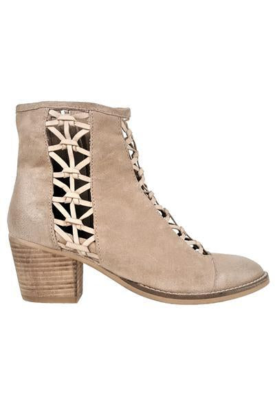 Gelsey Woven Bootie In Sand