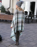 Grace & Lace Winter Weight 'Pocket Poncho Scarf' – Winter Mint