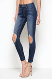 Hidden Jeans Amelia Skinny Jeans In Dark Wash
