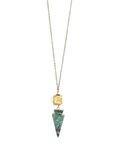 Beljoy Aris Arrowhead Necklace