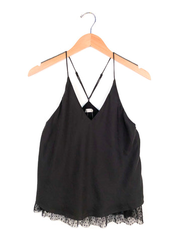 "Free People ""One I Love"" Cami In Black"