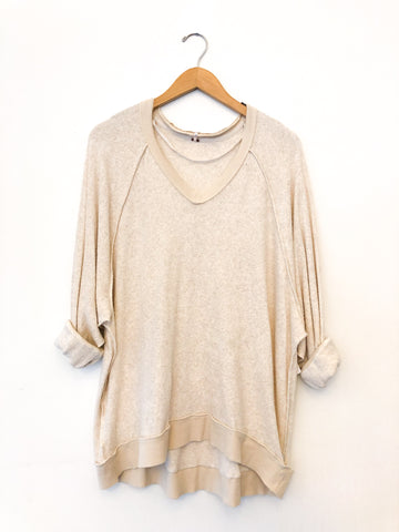 Free People 'Take It Off' Long Sleeve