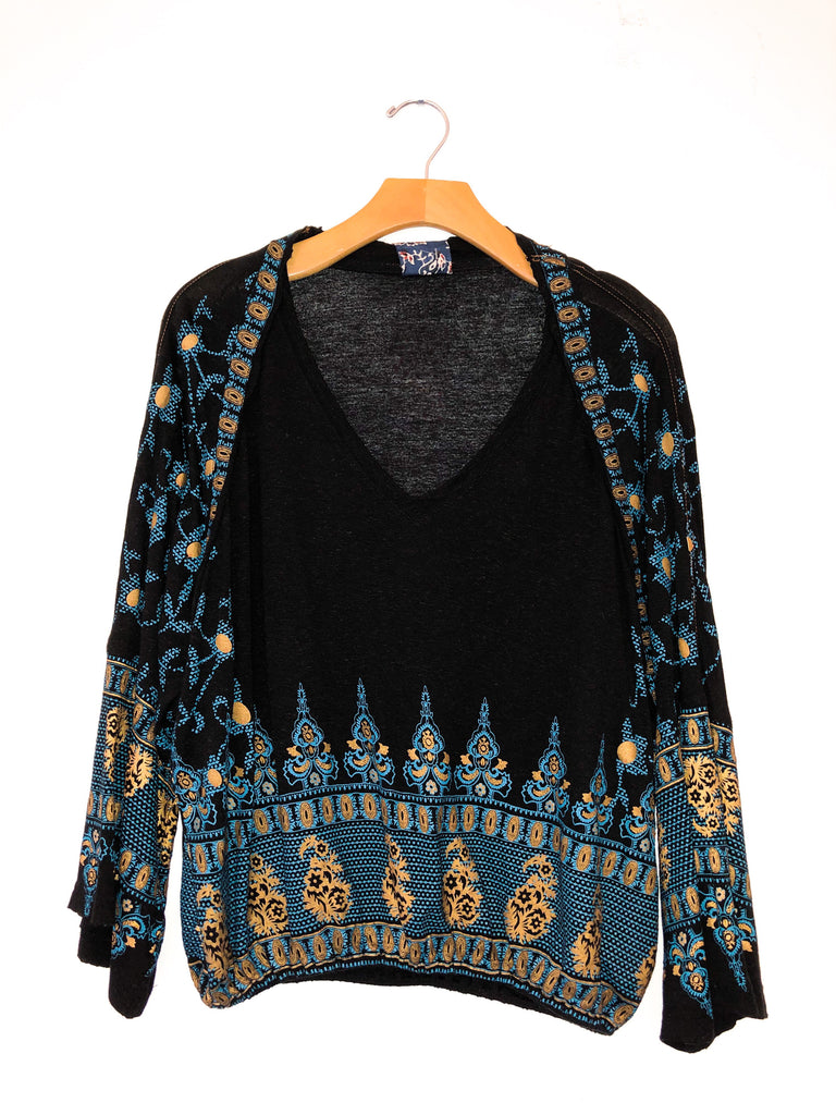 Free People 'Medallion Print' Top