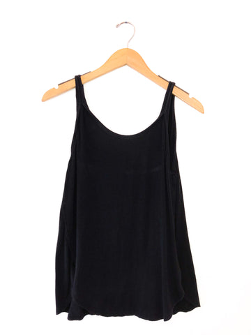 Free People 'Atlantic' Tank In Black