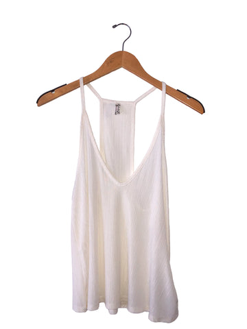 Free People 'Slinky Slinky' Tank Top In White
