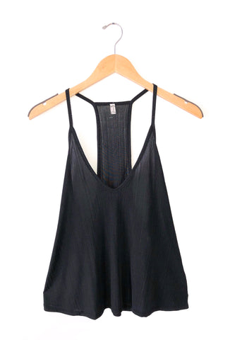 Free People 'Slinky Slinky' Tank Top In Black