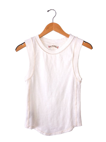 "Free People ""Go To"" Tank Top In Ivory"