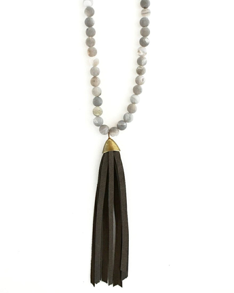 Beljoy Nelson Tassel Necklace