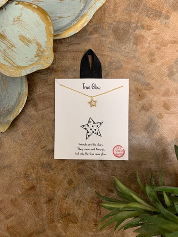 'True Glow' Necklace, Gold