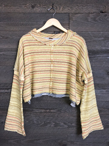 Free People 'Catalina' Pullover In Soft Sunset Combo