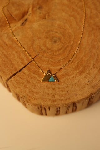 Turquoise Mountain Necklace