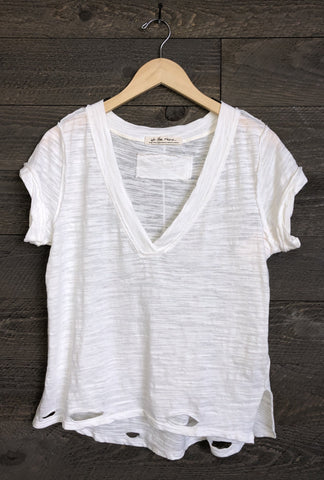Free People 'Sundance' Tee In Ivory