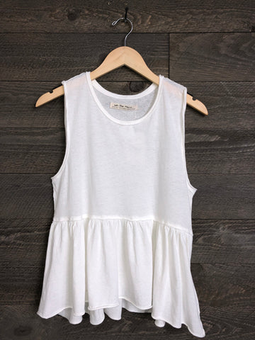Free People 'Anytime' Tank Top In Ivory