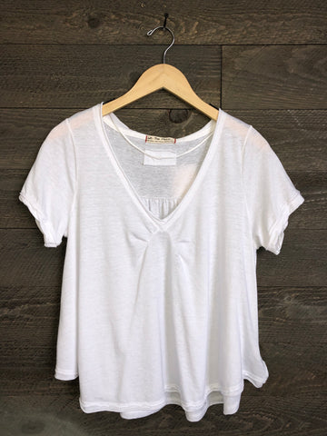 Free People 'All You Need' Tee In Ivory