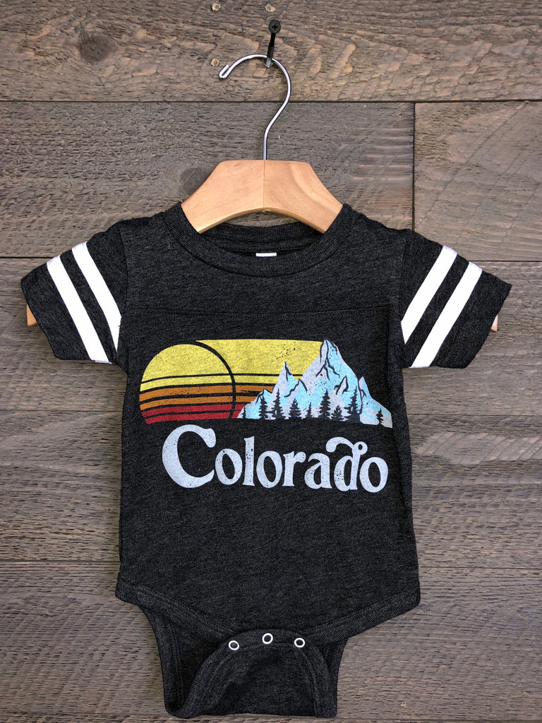 Savvy Threads Colorado Football Onesie