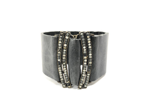 Mirror Image Cuff In Gray